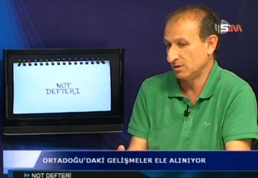 28 Mayıs 2014 KTOEÖS Kutay Bektaşoğlu SİM Not Defteri Programı Orta Doğu Meseleleri