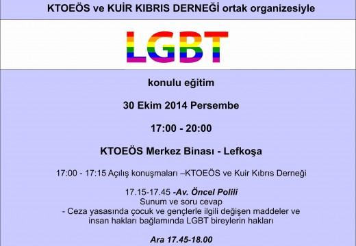 LGBT Konulu Eğitim