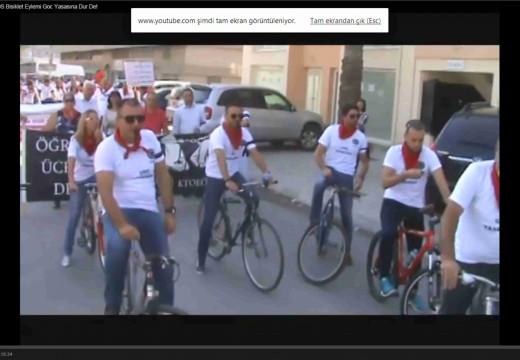 13 Ekim 2014 Bisiklet Eylemimiz