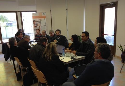 ETUCE'ye Üye Kıbrıslı Öğretmen Sendikalarının Ara Bölgede Toplantısı Gerçekleşti
