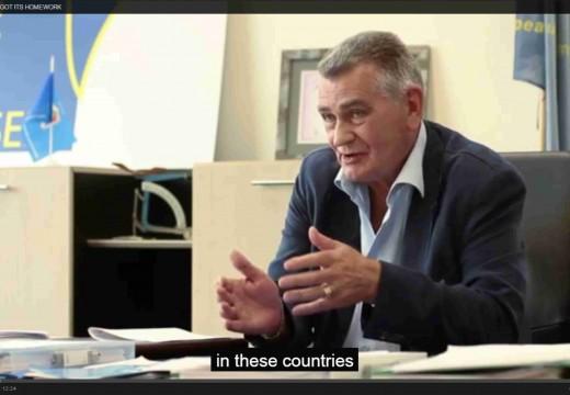 Avrupa Ev Ödevini Unuttuğunda