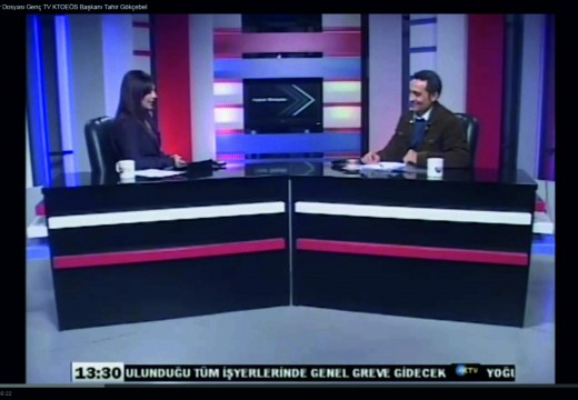 """10.02.2015 KTOEÖS Başkanı Tahir Gökçebel """"Halkın Yüzde 85i Fakirlik Sınırına İtildi"""""""