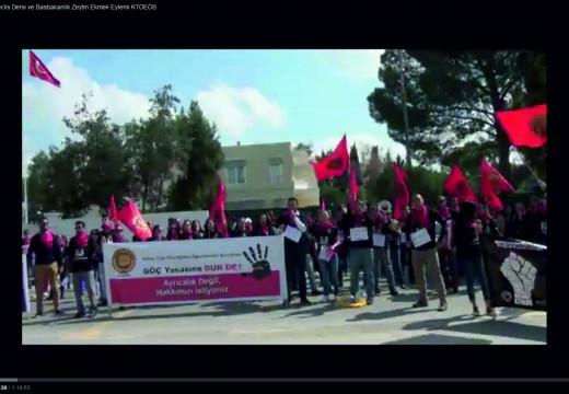 19 – 20 Mart 2015 Meclis Dersi ve Basbakanlık Zeytin Ekmek Eylemimiz