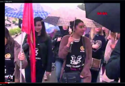 Magusa Göç Yasası eylemi 11 Mart 2015