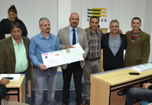 10 Kasım 2015 KTOEOS OYAK Sosyal Tesis Proje Yarısması Ödül Töreni