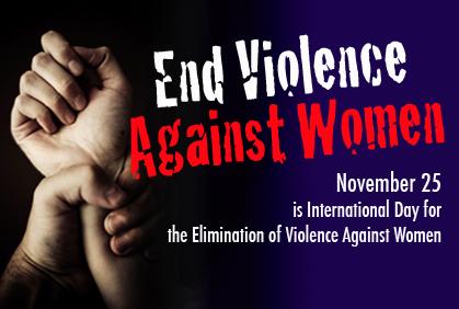 Kadına Yönelik Şiddetin Ortadan Kaldırılması İçin Mücadele Günü
