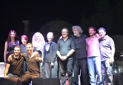 2 Haziran 2016 KTOEÖS, Kıbrıslı Rum Öğretmenler İnisiyatifi İki Toplumlu Nazım Hikmet Anma Konseri Namık Kemal Meydanı Mağusa