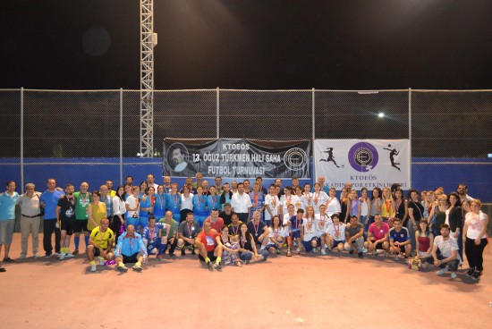 13. Oğuz Türkmen Halı Saha Turnuvası ve  1. Kadın Futbol Turnuvamız Final Maçları Gerçekleşti