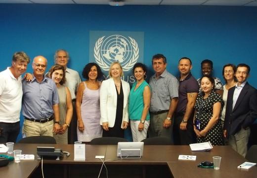 İki Toplumlu Barış İnisiyatifi olarak BM Genel Sekreterinin Kıbrıs Özel Temsilcisi Elizabeth SPEHAR ile Görüştük