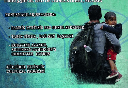 3 Ekim Uluslararası Dayanışma Günü Programı