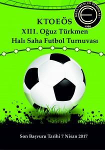 Oğuz Türkmen Halı Saha Futbol Turnuvası 2017