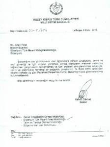Eğitim Bakanlığı Yazı